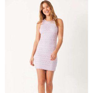 UO Kimchi Blue lilac lace mini dress M